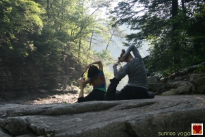 Yoga at Fall Creek Falls